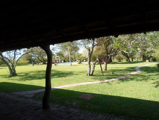 Rancho de Los Esteros: Desde la galeria
