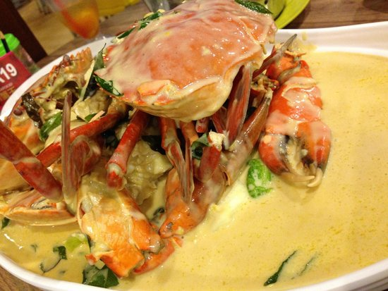 creamy butter crab, 2 medium-sized ones - Picture of Uncle Leong ...