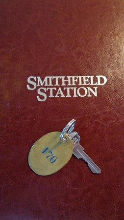 Smithfield Station: Real Keys!!!