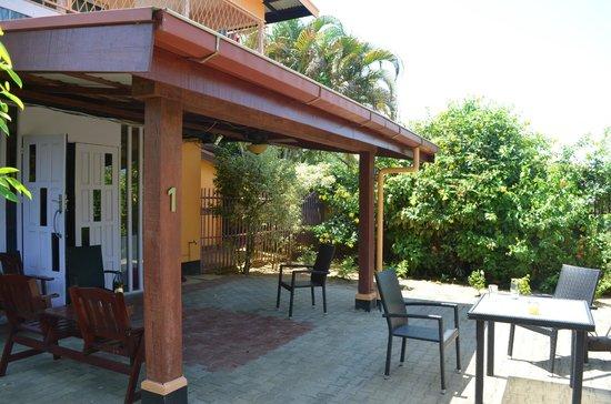Kekemba Resort Paramaribo: terrace app 1