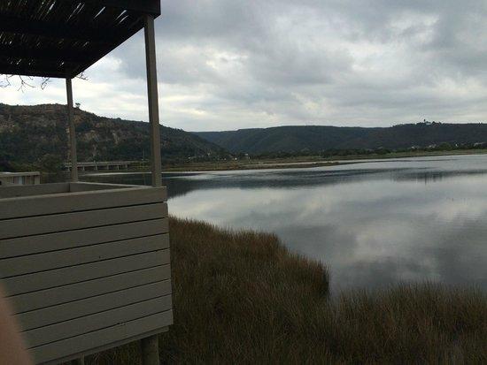 Plett River Lodge: Beatuiful view