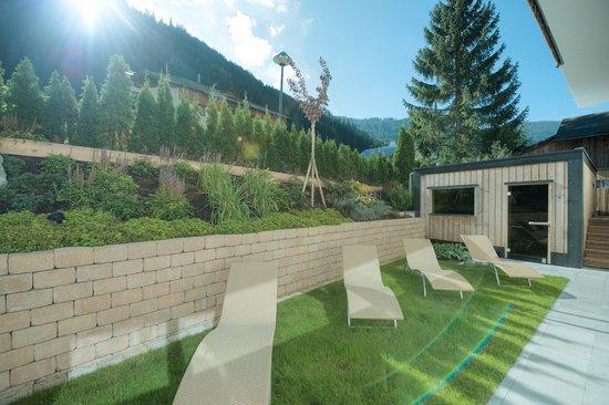 Hotel Post: Gartensauna Alpin