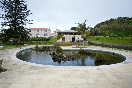 Pond That Looks Like Former Swimming Pool Picture Of Azoris Faial Garden Resort Hotel Horta