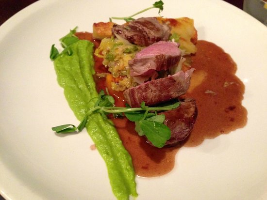 The Grange at St Andrews: Two versions of lamb: Roasted and broiled