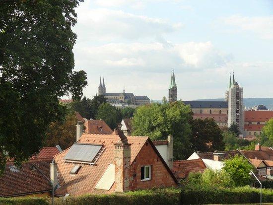 Spezialkeller: Views over Bamberg