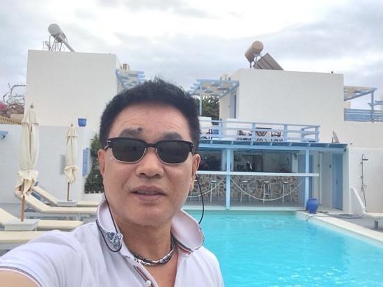 Amelie Hotel: self photo
