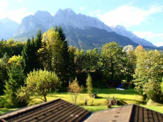 Alpenhof Grainau: Von Balcon nach Zugspitze