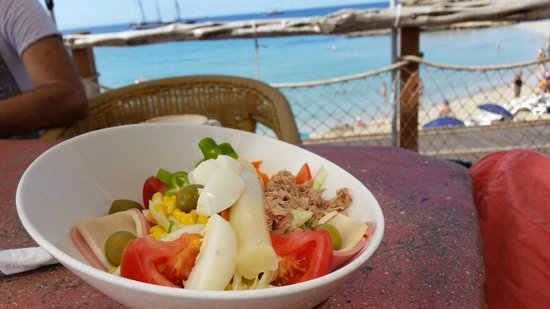 Ses Eufabies : Special salad