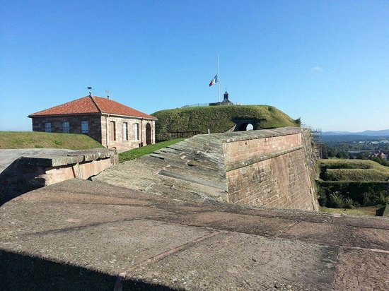 Citadel of Bitche : au sommet