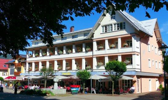 Das Hotel Mohren, Frontansicht