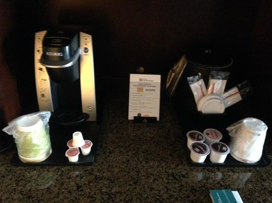 free coffee in room at hilton garden inn kalispell - Hilton Garden Inn Kalispell