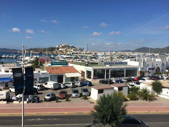 Hotel Ocean Drive Ibiza : Marina view