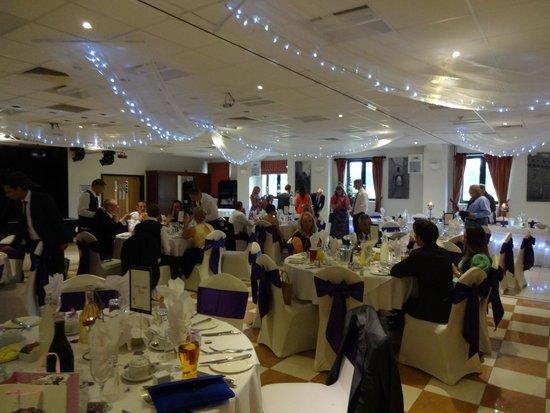 VesuviO Restaurant & Bar: Sharnbrook Hotel at my wedding