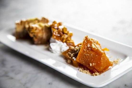 Agora Mediterranean Kitchen: Baklava-Butternut Squash