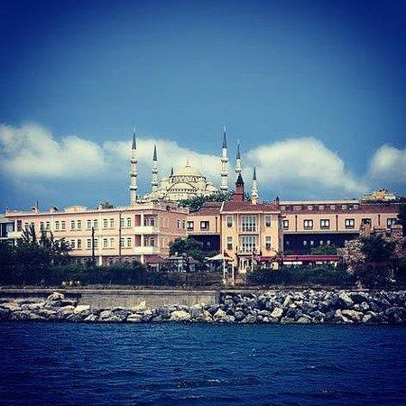 BEST WESTERN Citadel Hotel: Denizden görünüm.