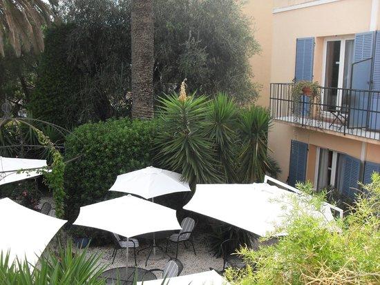 Le jardin bild von hotel olivier cannes tripadvisor for Le jardin cannes