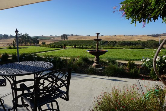 Sundance Bed and Breakfast : View from Patio