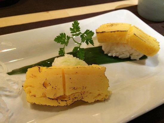 Wasabi: Sushi omelette