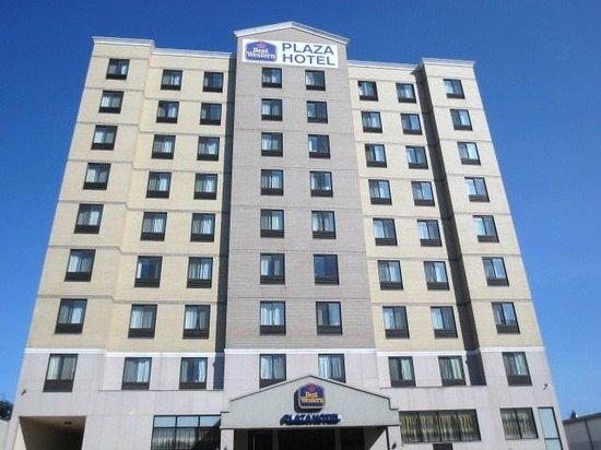 Best Western Plaza Hotel ホテル外観
