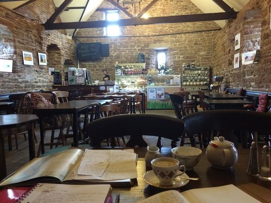 Beauvale Priory Tearooms: Warm, cosy and inviting. The most perfect place in the world