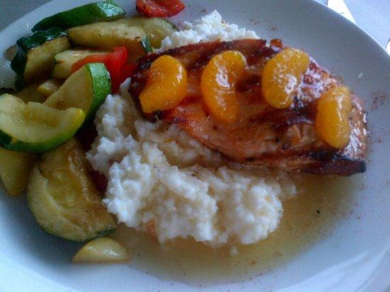 Varanese: Orange Bourbon Glazed Salmon