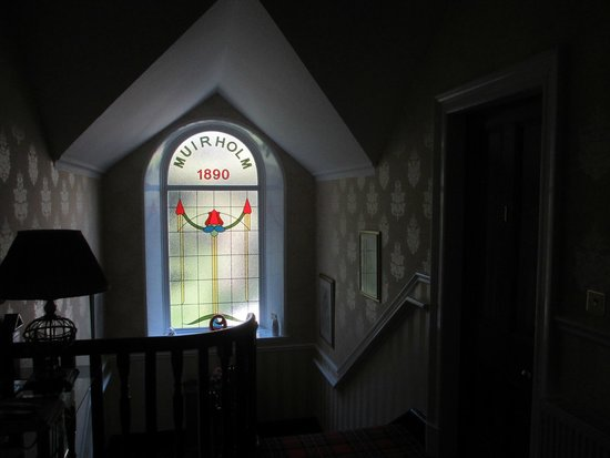 Muirholme B&B: The view from the staircase