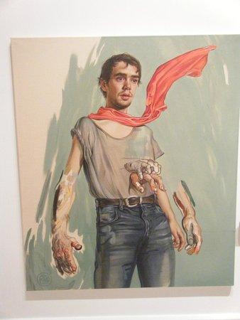 Cac Malaga Centro de Arte Contemporaneo de Malaga : schilderij