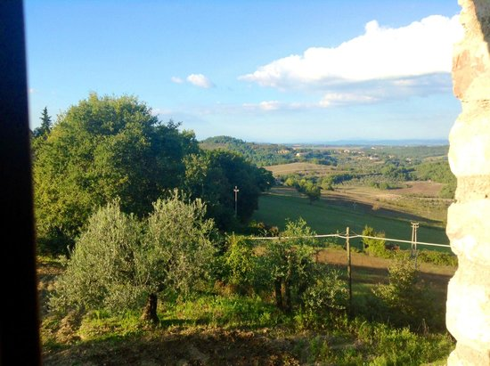 Casa Podere Monti: vire from the window