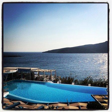 Mykonos Star : Balcony view