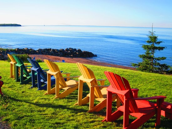 Pictou Lodge Beachfront Resort: Great view