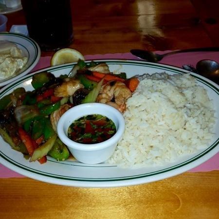 Trading Post Restaurant: Stir Fry Shrimp