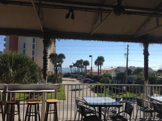Casey's NSB Bar and Upper Deck Restaurant : Deck view