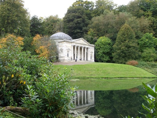 Stourhead House and Garden : one of the monuments