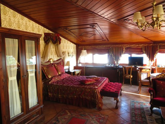 Dersaadet Hotel Istanbul : Partial view of The Sultan Suite