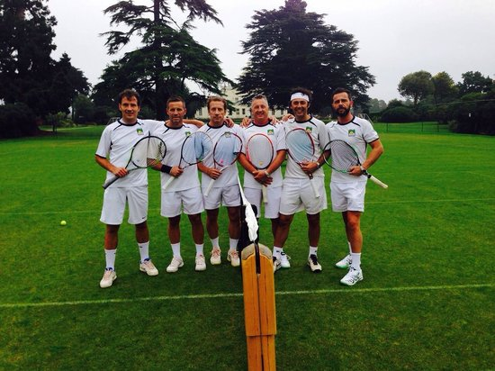 Stoke Park Country Club, Spa and Hotel: a tutto tennis!!!!!!