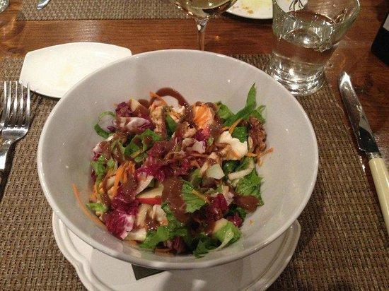 Tenuta Santo Pietro: Really good salad!