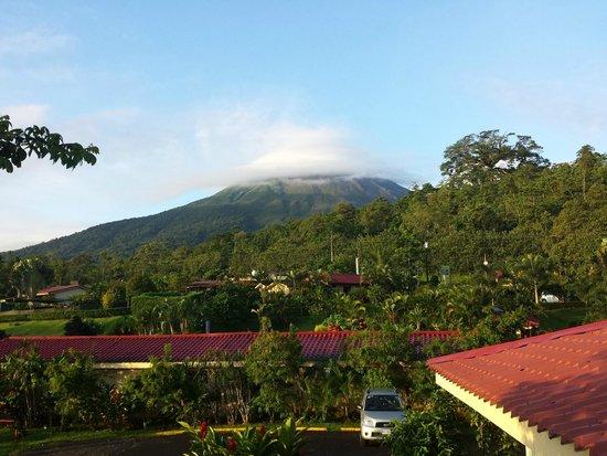Arenal Volcano Inn: Vistas desde la habitación 10
