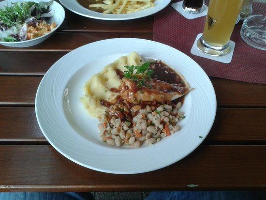 Restaurant Bären: One of their dishes