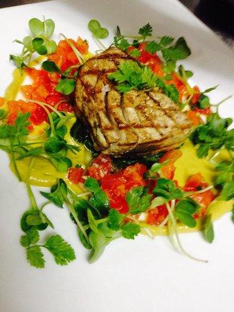 The Halia at Westlake: Grilled Tuna Steak.