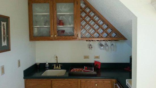 Squirrel's Nest Bed & Breakfast, LLC: Kitchen area