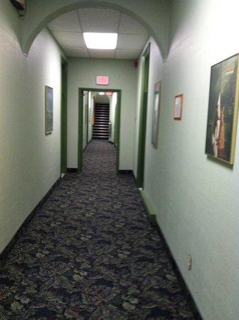 Albert Street Inn: Hallway