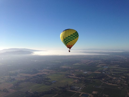 Up & Away Ballooning: Amazing View!!