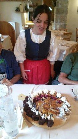 Rifugio Vallata : Festa di dolci