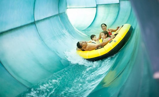 Great Wolf Lodge: River Canyon Run Water Slide
