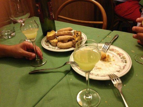 Hostaria Da Pietro: Dessert
