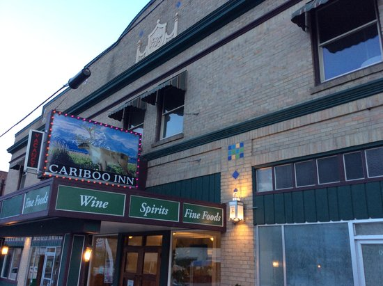The Cariboo Inn: Front Entrance From Queen Street