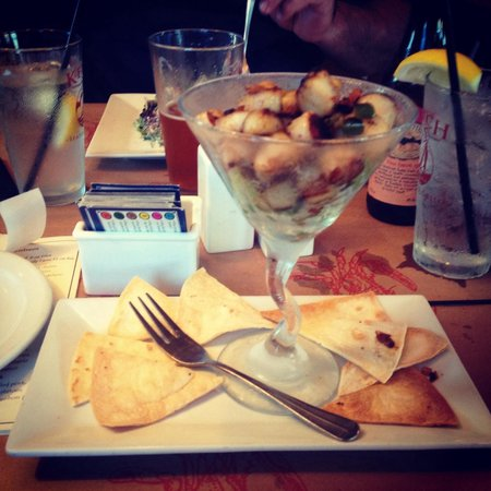 scallop bacon martini appetizer picture of ketch 55 seafood grill