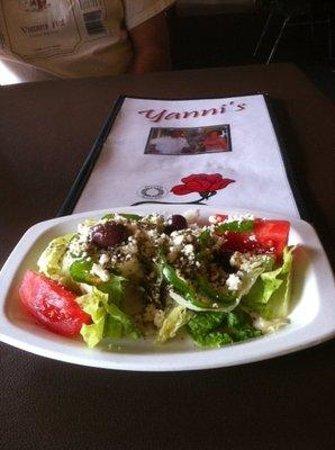 Yanni's: salad