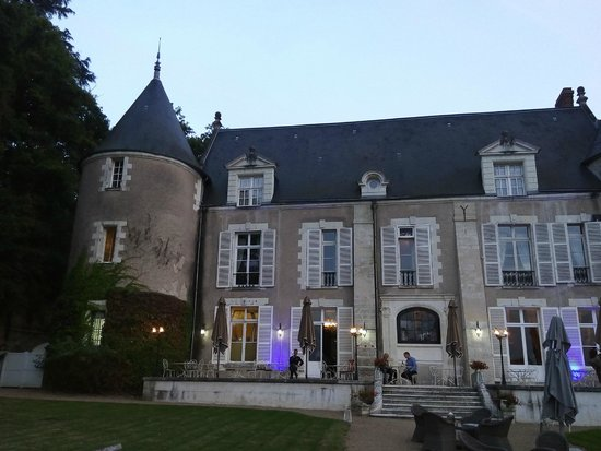 Chateau de Pray: l'extérieur