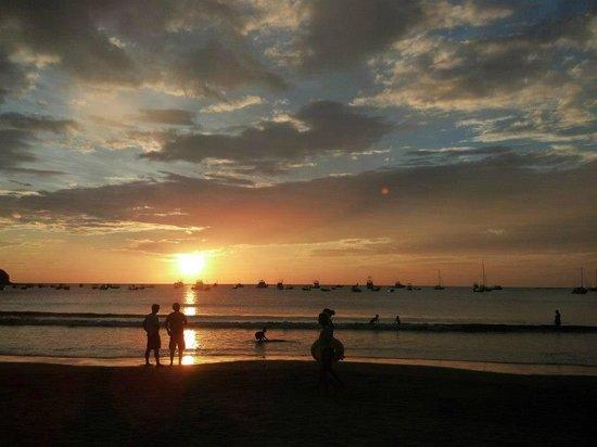 San Juan del Sur Beach: sunset...